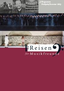 Aktueller Musikreisen-Katalog