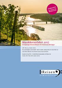 Aktueller Musikkreuzfahrt-Katalog