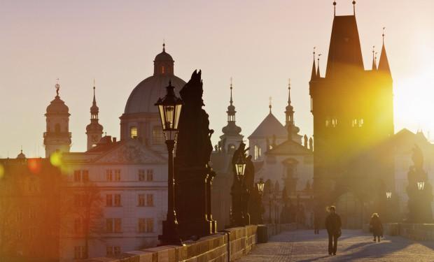 Stadtansicht von Prag