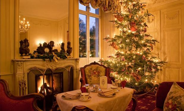 Baden-Baden ,Hotel Belle Epoque an Weihnachten