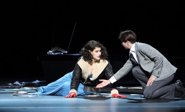 """Szene aus der Oper """"Arabella"""" am Nationaltheater München"""