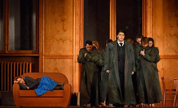 """Szene aus der Oper """"Orlando"""" an der Semperoper Dresden"""