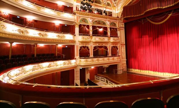 Innenansicht des Opernhauses Breslau