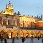 Die Tuchhallen in Krakau