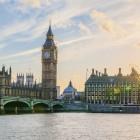 Stadtansicht mit Big Ben und Themse