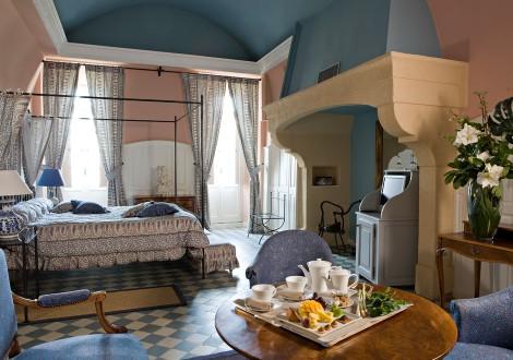 Chateau de Rochegude Zimmer