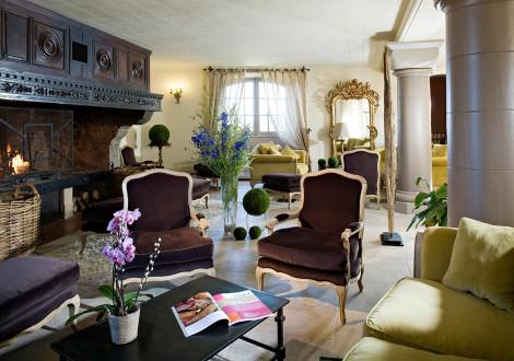 Chateau de Rochegude Salon