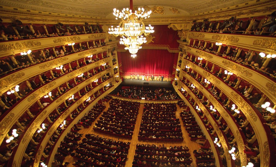 01 Mailand, Scala