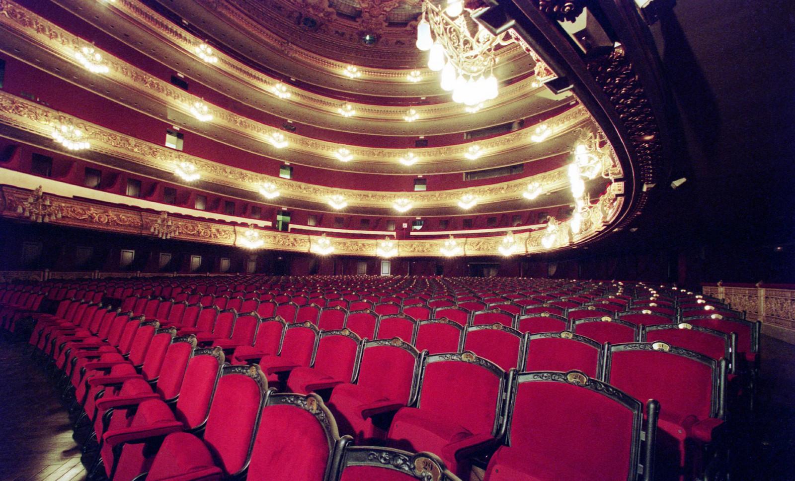 Grand Teatre del Liceu in Barcelona