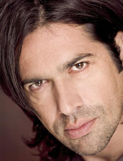 Portrait des Opernsängers Ildebrando D'Arcangelo