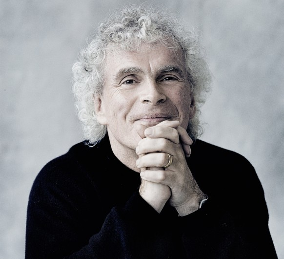 Portrait des Dirigenten Sir Simon Rattle