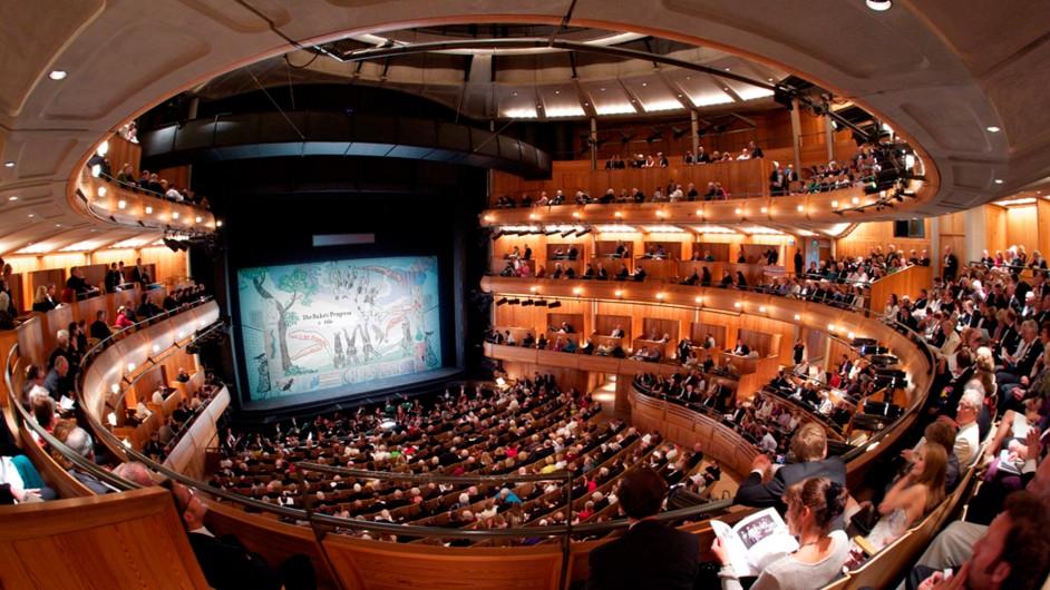 Glyndebourne Opernhaus Auditorium