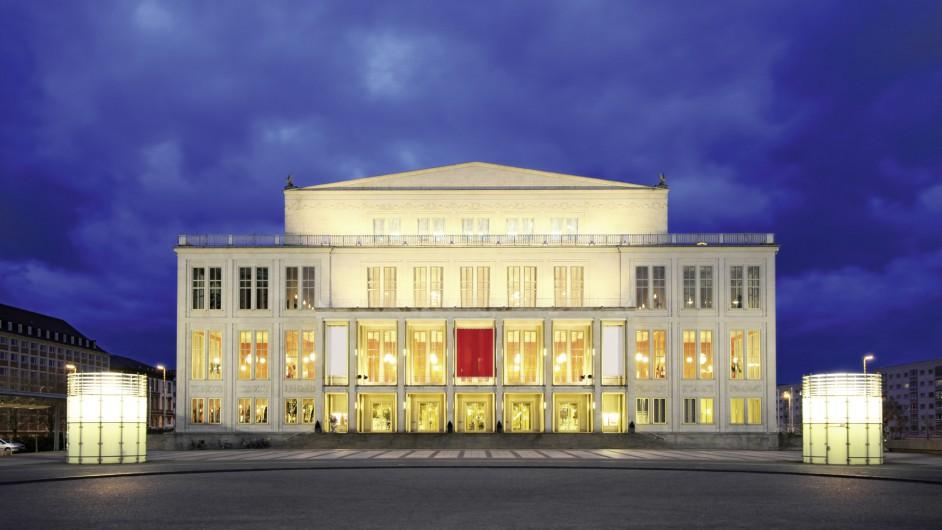 Opernhaus in Leipzig