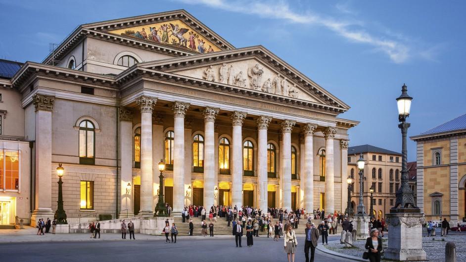 Das Nationaltheater in München, Spielstätte der Bayerischen Staatsoper