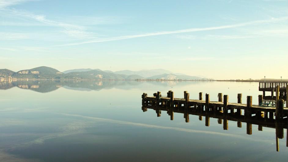 Blick über den Lago Massaciuccoli